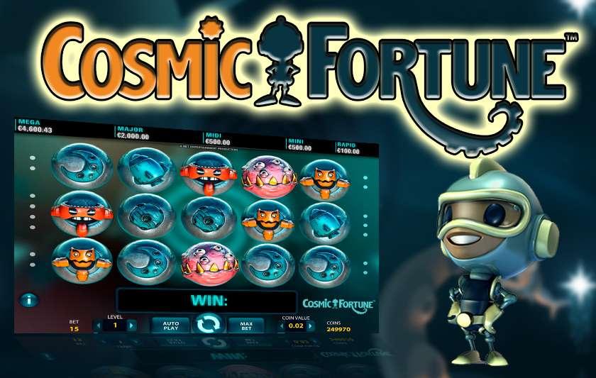 สล็อต cosmic fortune